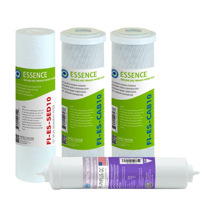 APEC Pre-filter Set for ESSENCE 75 GPD PH Reverse Osmosis Systems (Stages 1-3 and 6)