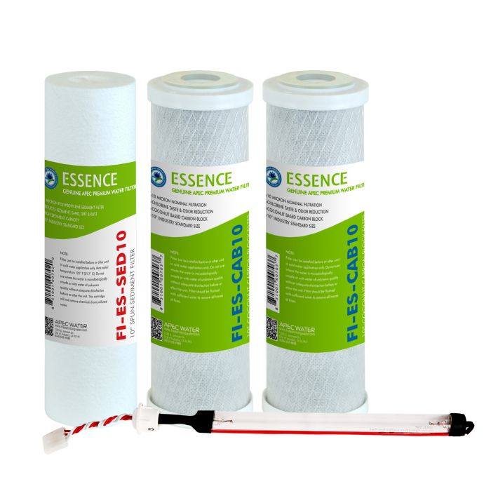 APEC Pre-filter Set for ESSENCE 75 GPD ROES-UV75 UV Reverse Osmosis Systems (Stages 1-3 and 5)
