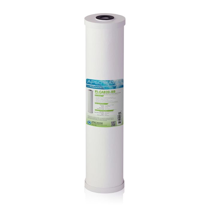 Whole House High Flow Radial-Flow GAC Carbon Filter 4.5