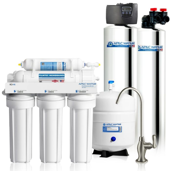 TOTAL SOLUTION 10 WHOLE HOUSE WATER PURIFICATION SYSTEM