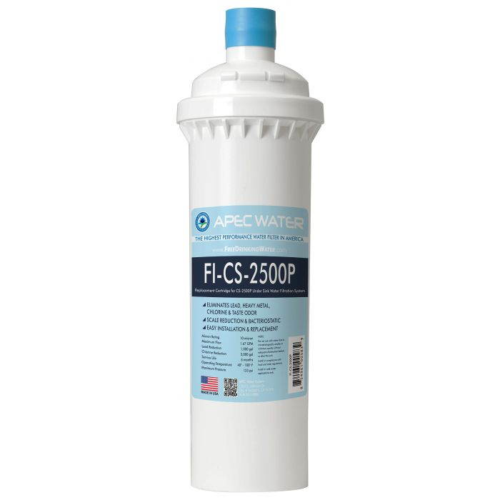 FI-CS-2500P Replacement Filter for CS-2500P Water Filtration System