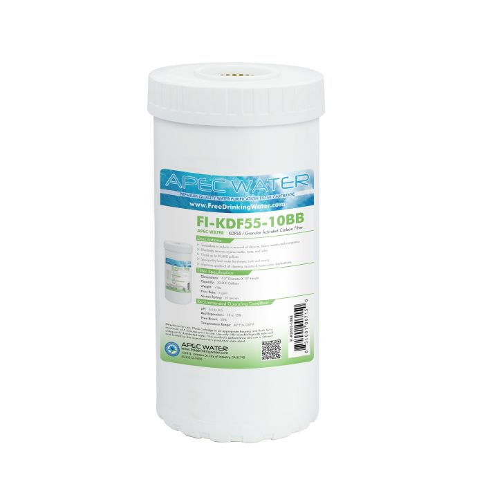 US Made Chlorine, Heavy Metal and Bacteria Reduction Specialty Filter 4.5