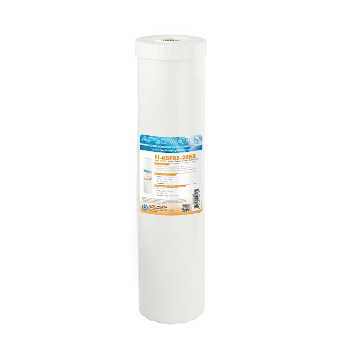 US Made Heavy Metals and Hydrogen Sulfide Reduction Specialty Filter 4.5
