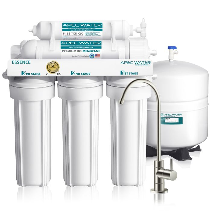 ROES-50 - Essence 5-stage 50 GPD Reverse Osmosis Drinking Water System WQA Certified