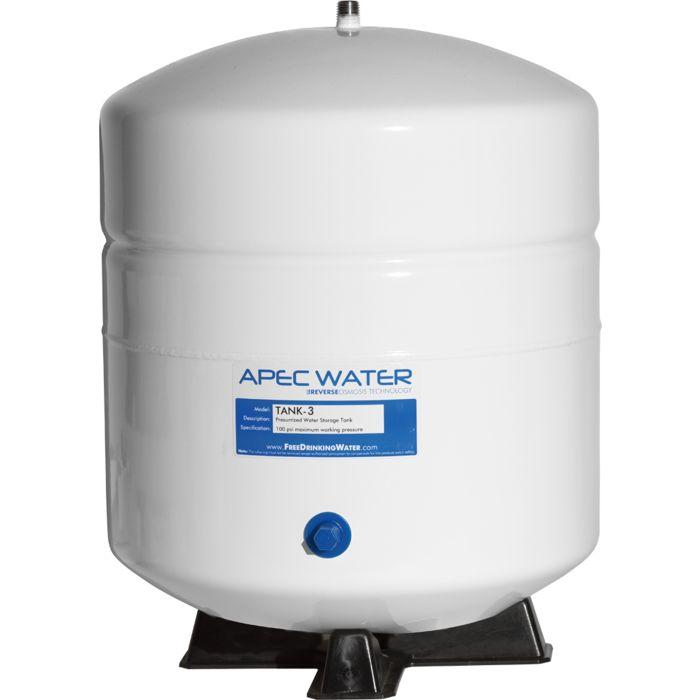 3 Gallon Residential Reverse Osmosis Water Storage Tanks