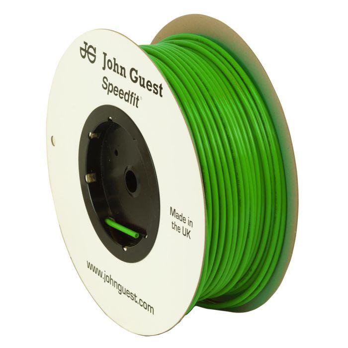 John Guest Food Grade Polyethylene Tubing For Reverse Osmosis Systems - 10 Feet (1/4 Inch, Green)