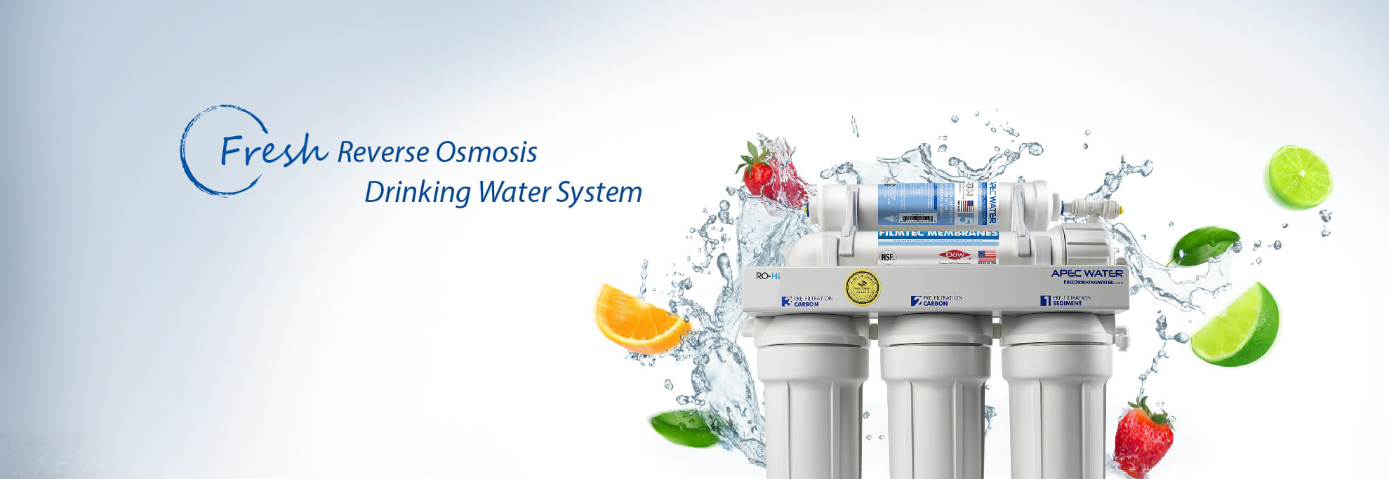 Fresh Reverse Osmosis Drinking Water System